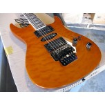 STAGG Z600QM-AM Quilted Maple Top Guitar Tremolo New