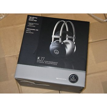 AKG K 77 Dynamic Around-ear Closed-back Headphones New