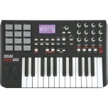 AKAI MPK25 25-key, portable keyboard controller with 12 MPC pads