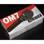 AUDIX OM7 Dynamic Hypercardioid Handheld Microphone New