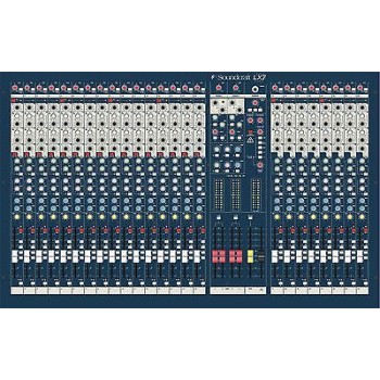 Soundcraft LX7ii 24 Channel Console w/GB30 Preamps New