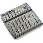 STAGG SMIX 4M4S Multi-Channel Stereo Mixer w/Phantom Power New