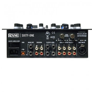 RANE 61 Sixty One Serato Scratch Live DJ 5 Stereo 2 Bus Mixer USB New
