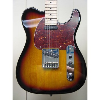G&L Tribute ASAT Classic 3-Tone Sunburst Guitar New