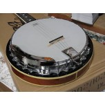 STAGG BJM30DL 30 Hook Deluxe Banjo w/ Metal Pot New