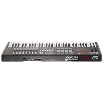 AKAI MPK61 61-key, semi weighted  USB/MIDI keyboard controller with 16 MPC pads