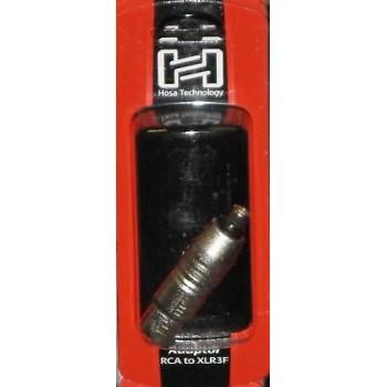 Hosa GXF-132, Adaptor, RCA to XLR3F