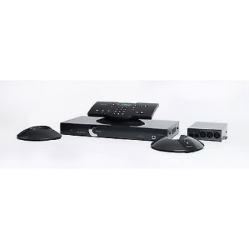 CLEARONE Interact AT Bundle-C Audio Conferencing System Mics, Dialer, Speakers