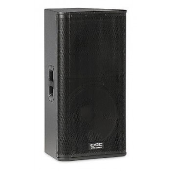 "QSC KW152 15"" 2-Way Trapezoidal Powered Loudspeaker New"
