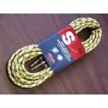 STAGG 20ft Vintage Tweed Instrument Cable Yellow New