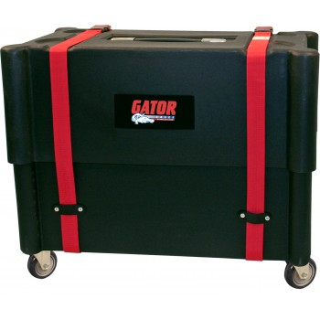 Gator -1X12 Combo Amp Transporter / Stand; Molded Plastic