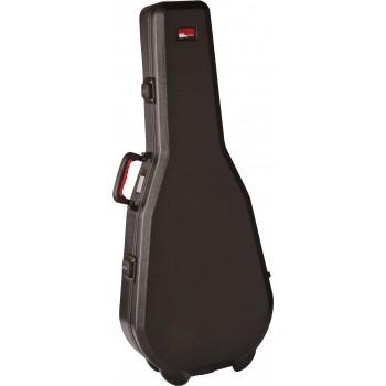 Gator -Dreadnought Guitar Case; TSA Latches